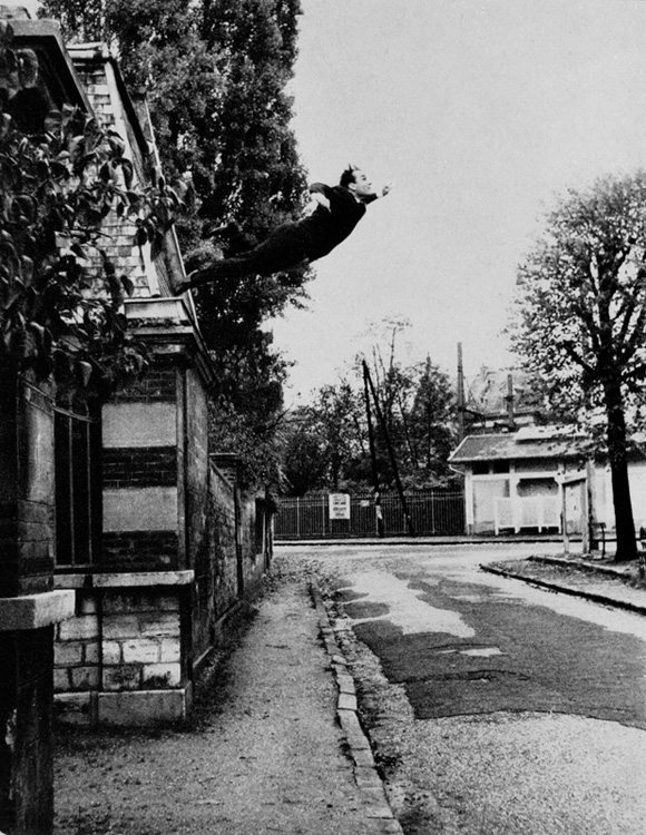 Yves Klein: Leap into the Void, 1960.