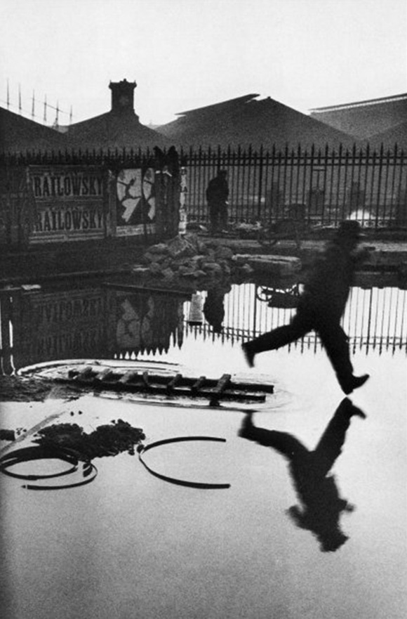 Henri Cartier-Bresson: Behind the Gare Saint-Lazare, 1932.