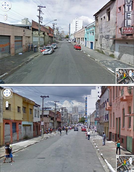 Google Street View, 2011.