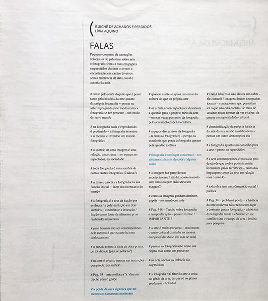 Jornal de Borda #1, 2015.
