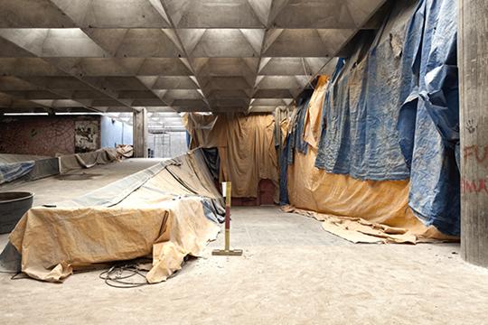 Ana Ottoni: Restauração do prédio da FAU, 2014.