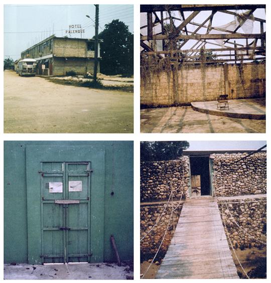 Robert Smithson: Hotel Palenque, 1969.