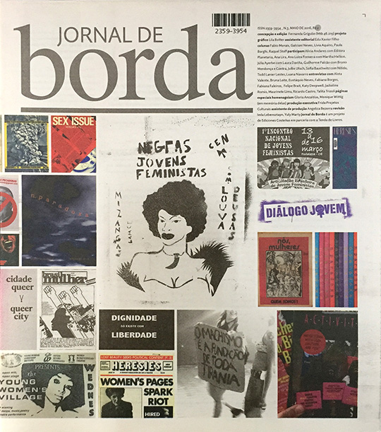 Jornal de Borda #3, 2016.